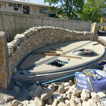 Ayr water feature construction services