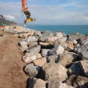 Coastal engineering at Beesands