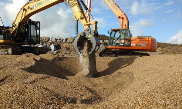 Coastal protection and defences at Beesands