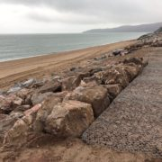 Rock Armour at Beesands