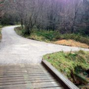 Burrator foot path and cycle path construction
