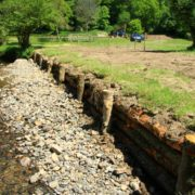 Cornwood erosion control solution