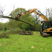 Specialist timber grab attachment