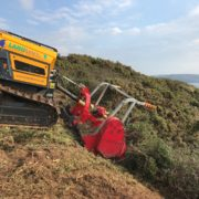 Steep Gradient Scrub Clearance