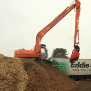 Landmarc's UK wood chipping service