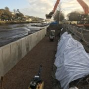 Restoring Kingsbridge quay wall