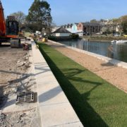 Final Kingsbridge quay wall restoration